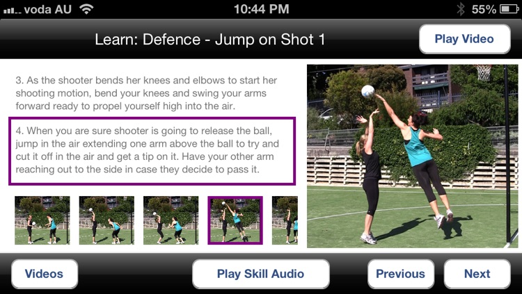 Netball Coach Plus screenshot-2