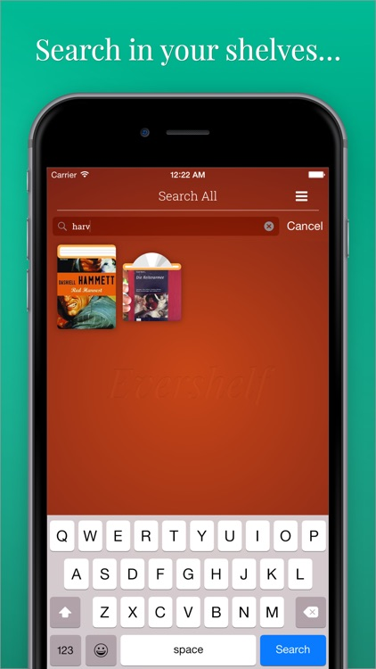 Evershelf - Organize Books, CDs, vinyl records, and movies - search your shelves - share your collections! screenshot-3