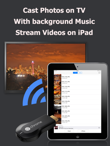 CastOnTV Free - Music Slideshow for Chromecast | App Price