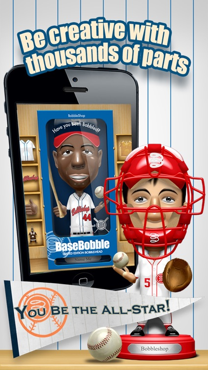 Basebobble - Bobblehead Avatar Maker App for Baseball from Bobbleshop screenshot-4