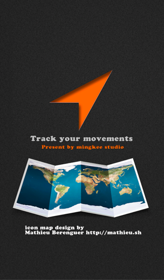 Route Diary Travel- Track your movements screenshot one
