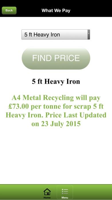 A4 Metal Recycling screenshot four