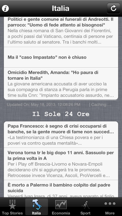Italy News, Italian Notizie screenshot-0