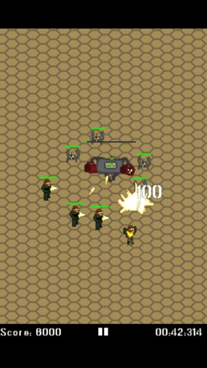 Micro Marines screenshot-3