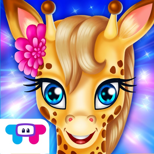 Giraffe Care - Rainbow Resort : Spa, Makeover, Dress Up, Designer & More