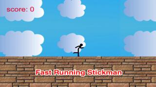 Amazing Bubble And Star: Stickman Runner Free screenshot one