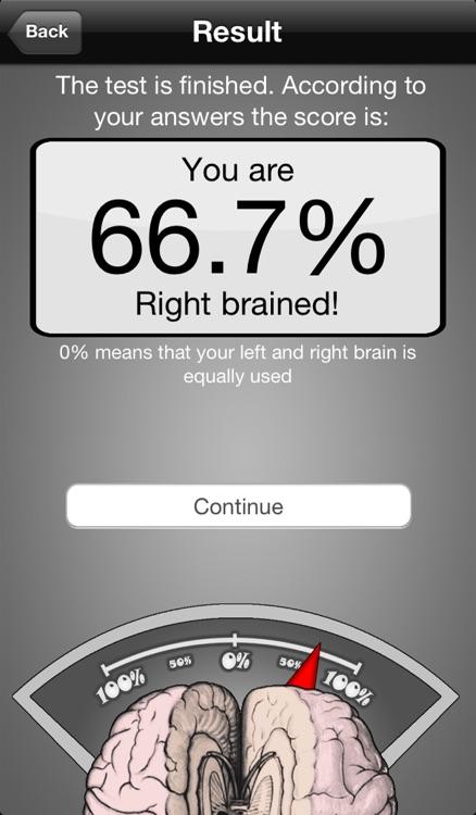 Brain Test ~ I'm Left or Right brained? ~ A brain side hemisphere dominance quiz