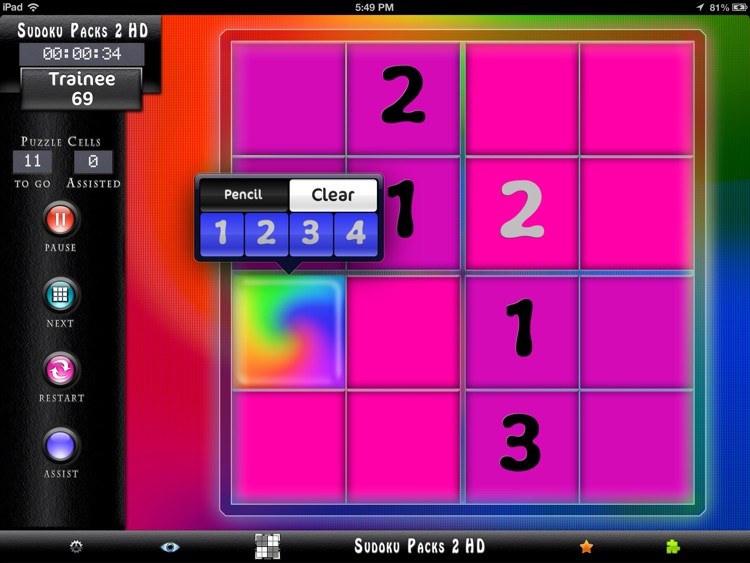Sudoku Packs 2 HD screenshot-2