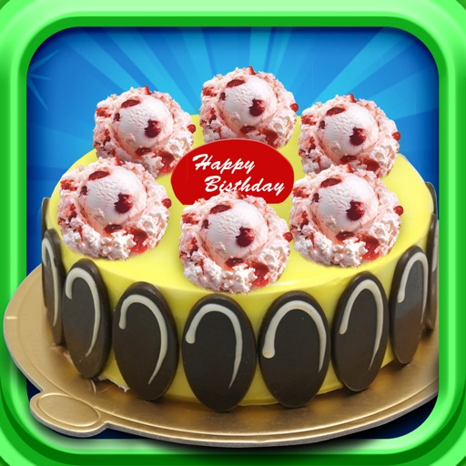 Make Ice Cream Cake - Cooking games
