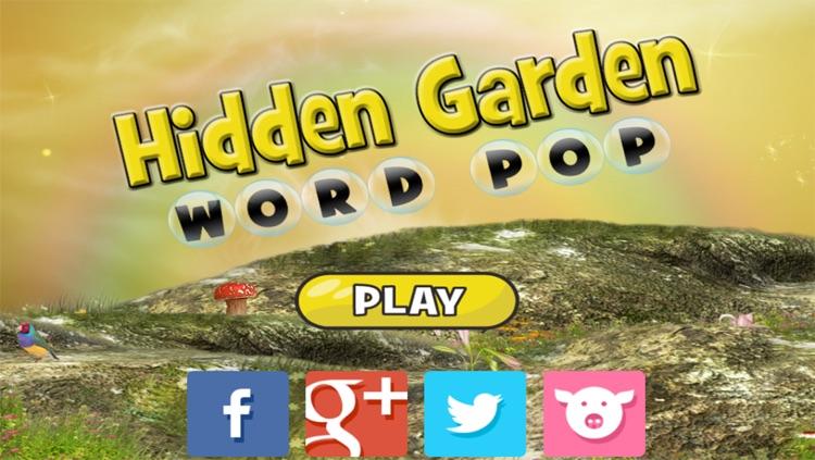 Hidden Garden Word Pop