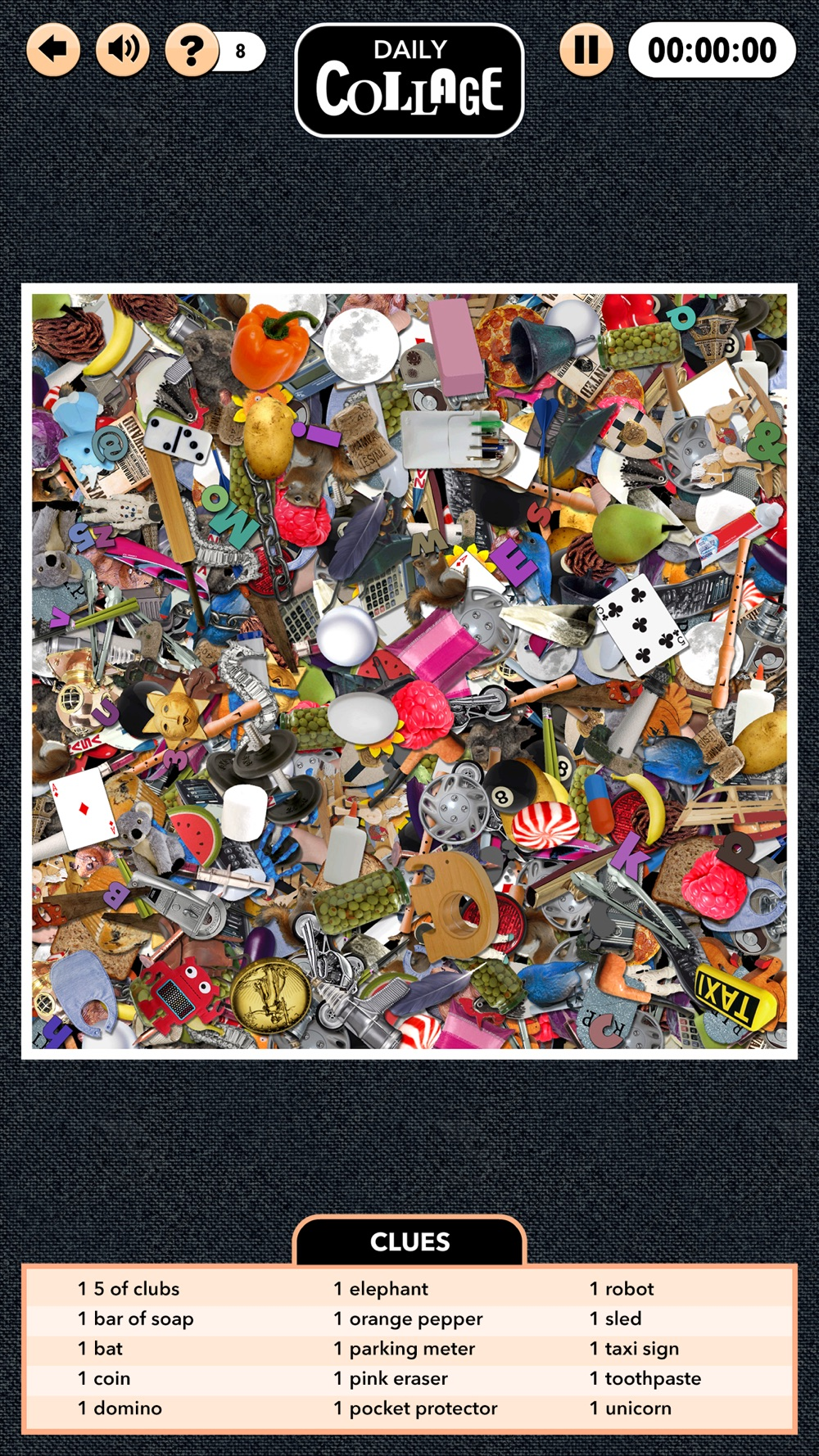 Daily Collage - A Hidden Object Game hack tool