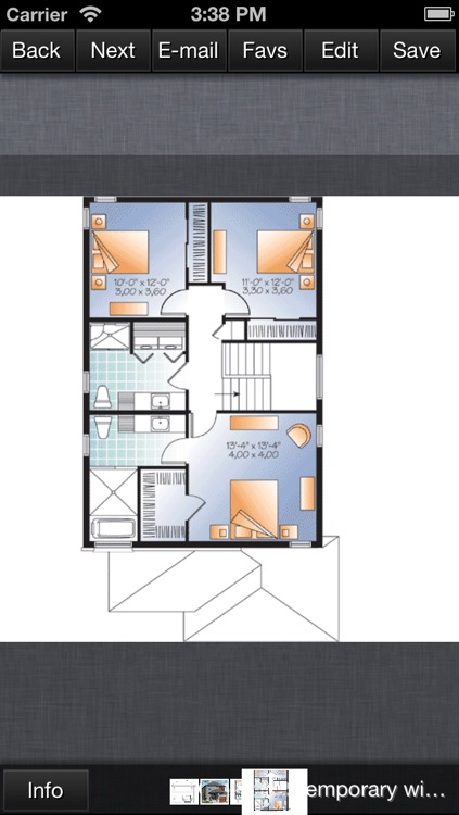 Contemporary House Design - Family Home Plans screenshot-3