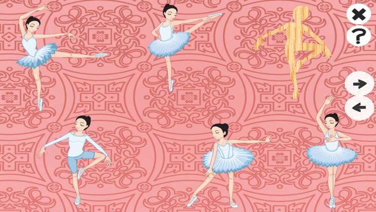 A Ballet Game for Girls: Learn like a ballerina for kindergarten or pre-school