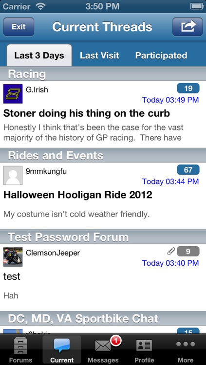 Forum Runner - vBulletin, phpBB, XenForo, and myBB Forum Reader screenshot-3