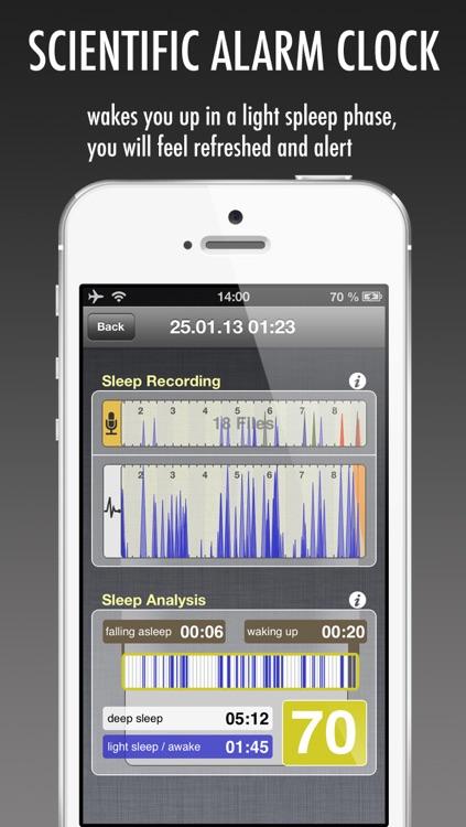 WakeApp Pro - Scientific Alarm Clock & Sleep Recorder