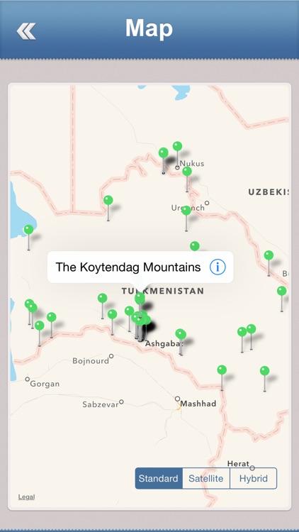 Turkmenistan Travel Guide screenshot-3