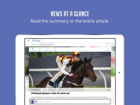 Horse Racing News & Videos - Sportfusion screenshot