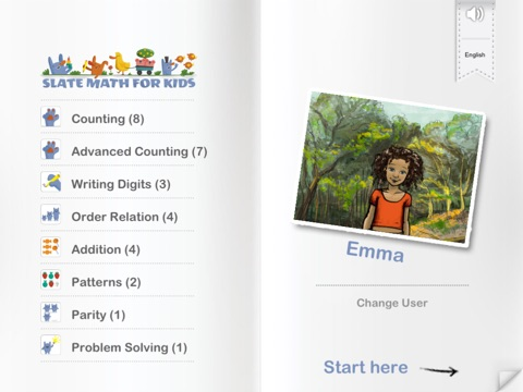 SlateMath for Kids - Kindergarten and 1st Grade Games Screenshot