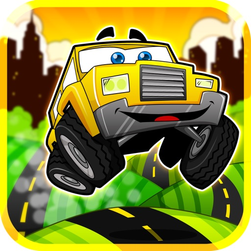 Cartoon Car Race