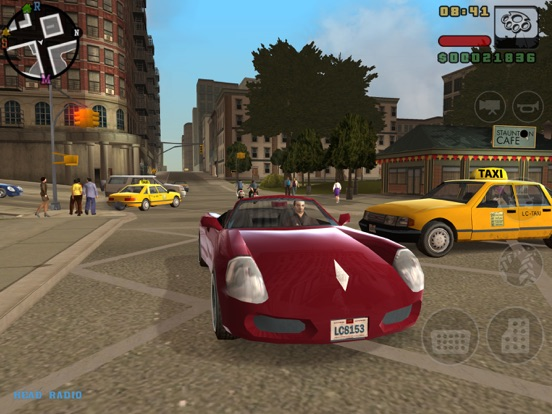 Grand theft auto: liberty city stories ios / android hd gameplay.