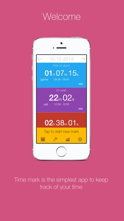 Time Mark - Beautiful Time Tracker With Insights