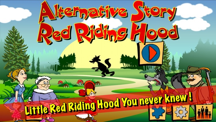Red Riding Hood - Alternative Story screenshot-0