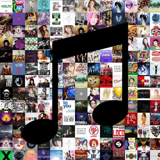 PICTUNES300(ピクチューンズ) 〜ジャケ買いしちゃうかも!?楽曲のジャケットを楽しめるアプリ!