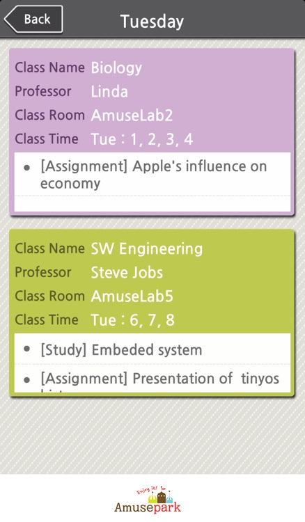TimetablePlus screenshot-1