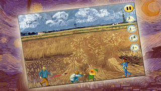 Van Gogh game: Art Ninja! Free screenshot three