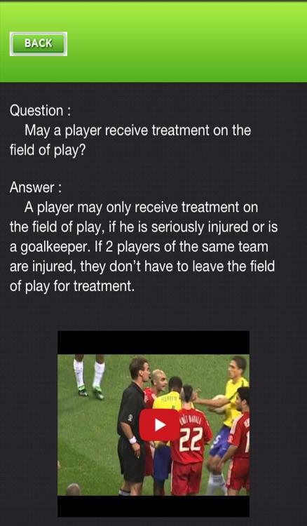 Football - Soccer Rules screenshot-3