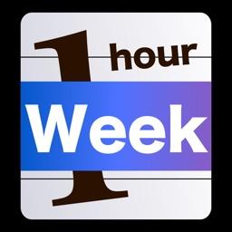 Week Table 1hour