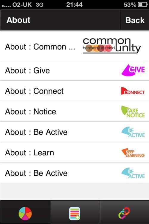 5 ways to wellbeing screenshot-4