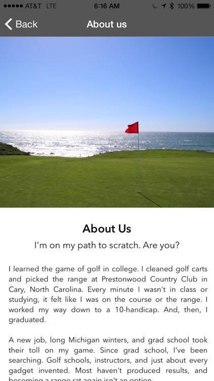 ScratchSystem Golf Coach screenshot-3