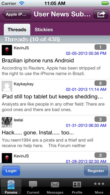 Discussion Forum for iPad Users screenshot-4