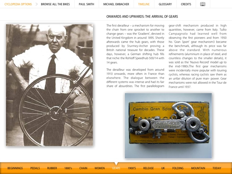 Cyclepedia - Iconic Bicycle Designs screenshot-4