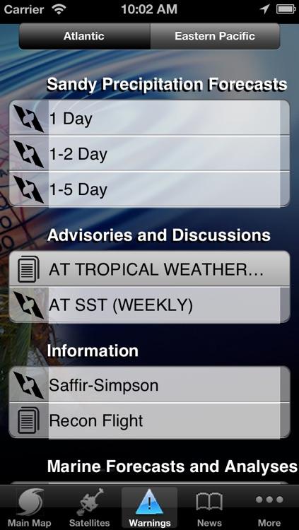 Hurricane Tracker By HurricaneSoftware.com's - iHurricane Pro screenshot-3