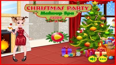 Christmas Party Makeup Spa Salon