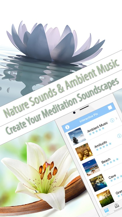 Meditation Sounds and Ambient Music to Meditate screenshot-0