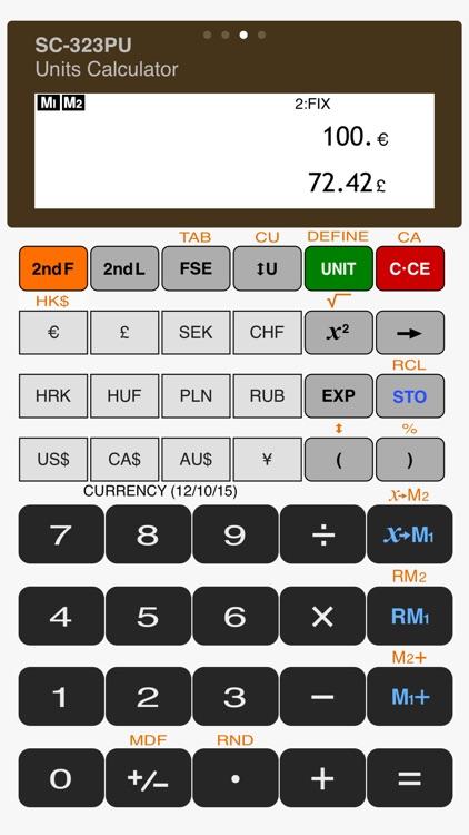 Scientific Calculator - SC-323PU screenshot-3