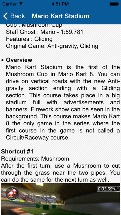 Guide and Stats for Mario Kart 8