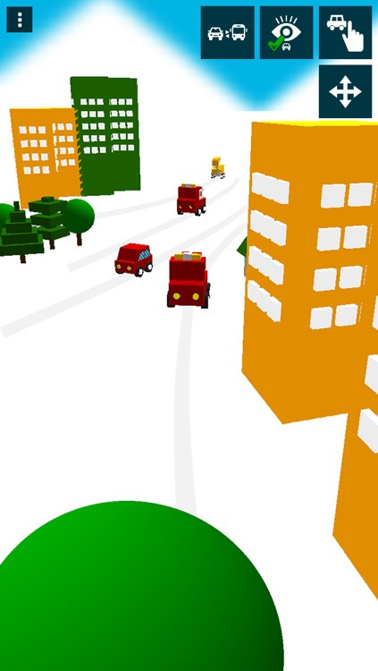Touch and Move! Service Vehicles (for young children) - Educational Apps Free screenshot-3