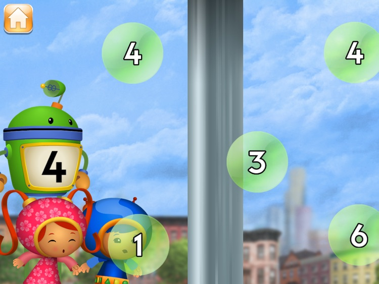 Team Umizoomi Math:  Zoom into Numbers HD screenshot-3