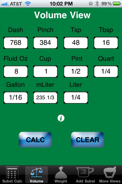 Culinary Calculator Pro for smartphone