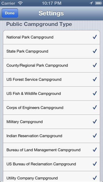 National and State Park Camping Guide - Free screenshot-3