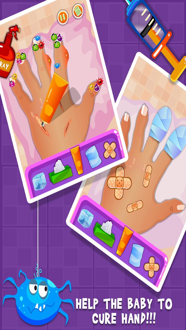 Baby Nail Doctor- Girls & Fun Kids Games-2