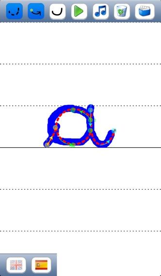 子供のためのベ - 英語とスペイン語の音で大文字と小文字のアルファベットの筆記体文字を書くことを学ぶのおすすめ画像2