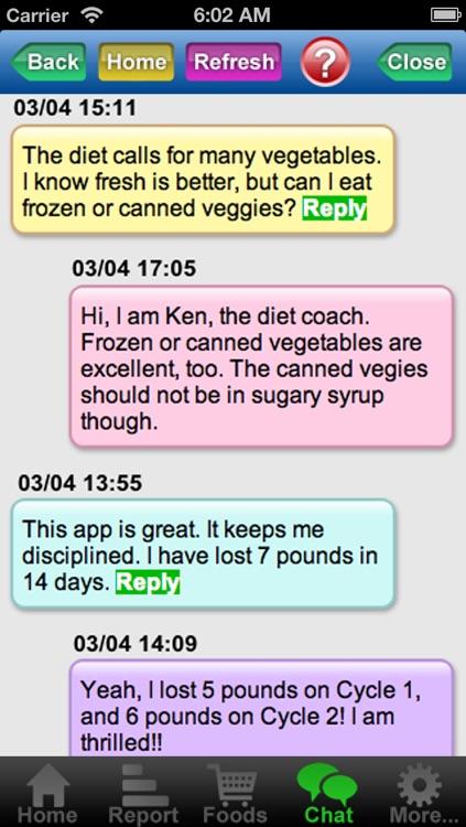 Atkins Diet Coach screenshot-3