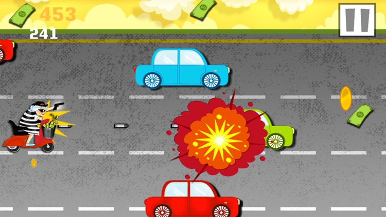 Granny Bandit Rascal Race Grand Theft Police Chase Escape - Free Game screenshot-3