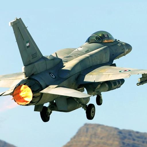 3D Desert Strike Plane Combat iOS App