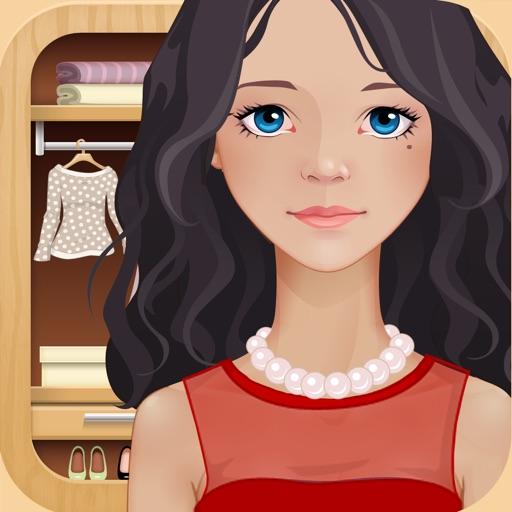 Одень куклу: Эмма-модница